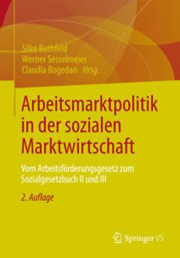 Bothfeld, Silke - Arbeitsmarktpolitik in der sozialen Marktwirtschaft, ebook