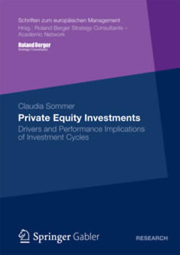 Sommer, Claudia - Private Equity Investments, ebook