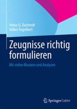 Dachrodt, Heinz-G. - Zeugnisse richtig formulieren, ebook
