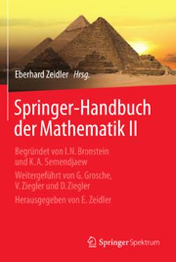 Zeidler, Eberhard - Springer-Handbuch der Mathematik II, ebook