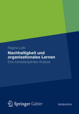 Lülfs, Regina - Nachhaltigkeit und organisationales Lernen, ebook