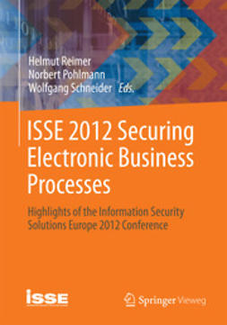 Reimer, Helmut - ISSE 2012  Securing Electronic Business Processes, ebook