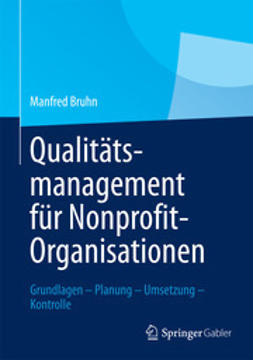 Bruhn, Manfred - Qualitätsmanagement für Nonprofit-Organisationen, ebook