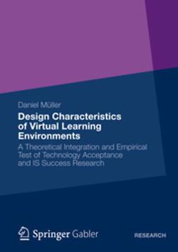 Müller, Daniel - Design Characteristics of Virtual Learning Environments, ebook