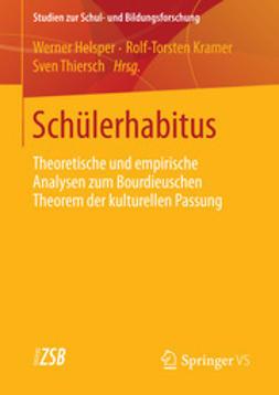 Helsper, Werner - Schülerhabitus, ebook