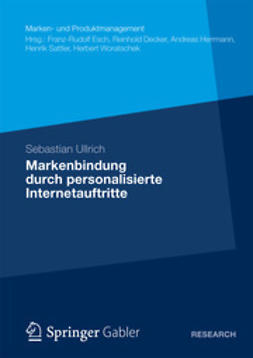 Ullrich, Sebastian - Markenbindung durch personalisierte Internetauftritte, ebook