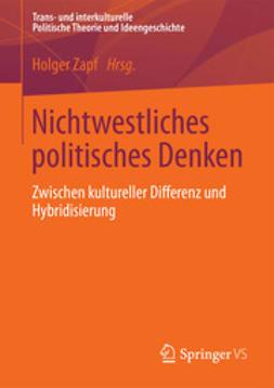 Zapf, Holger - Nichtwestliches politisches Denken, ebook