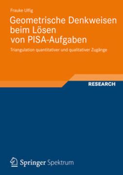 Ulfig, Frauke - Geometrische Denkweisen beim Lösen von PISA-Aufgaben, ebook