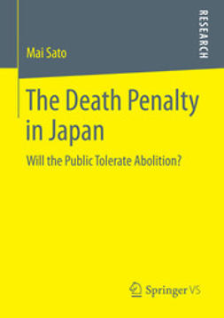 Sato, Mai - The Death Penalty in Japan, ebook