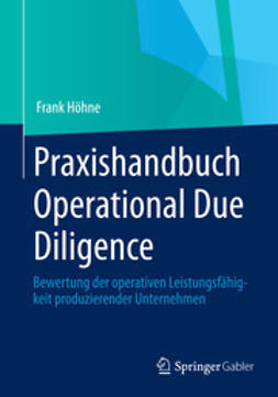 Höhne, Frank - Praxishandbuch Operational Due Diligence, ebook