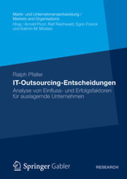 Pfaller, Ralph - IT-Outsourcing-Entscheidungen, ebook