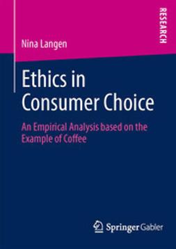 Langen, Nina - Ethics in Consumer Choice, ebook