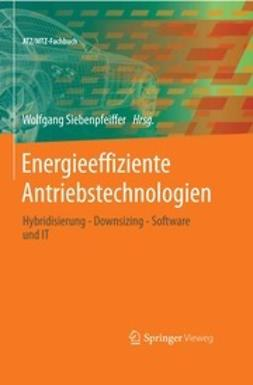 Siebenpfeiffer, Wolfgang - Energieeffiziente Antriebstechnologien, ebook