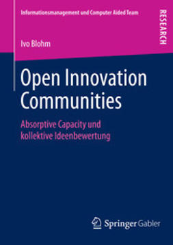 Blohm, Ivo - Open Innovation Communities, ebook