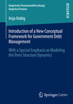 Hubig, Anja - Introduction of a New Conceptual Framework for Government Debt Management, ebook