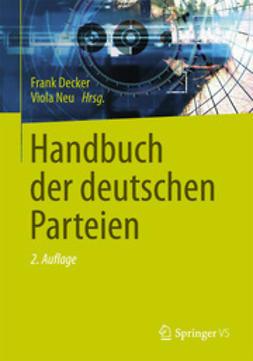 Decker, Frank - Handbuch der deutschen Parteien, ebook