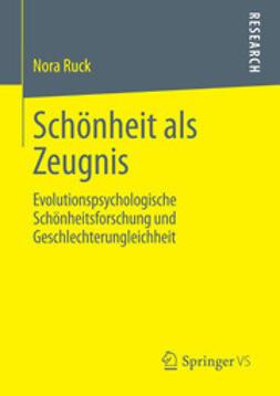 Ruck, Nora - Schönheit als Zeugnis, ebook