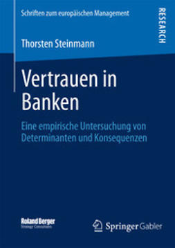 Steinmann, Thorsten - Vertrauen in Banken, ebook