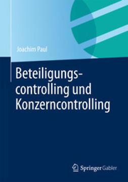 Paul, Joachim - Beteiligungscontrolling und Konzerncontrolling, ebook