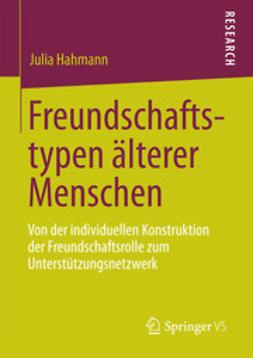 Hahmann, Julia - Freundschaftstypen älterer Menschen, ebook