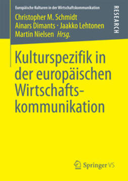 Schmidt, Christopher M. - Kulturspezifik in der europäischen Wirtschaftskommunikation, ebook