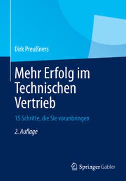 Preußners, Dirk - Mehr Erfolg im Technischen Vertrieb, ebook