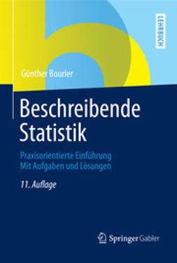 Bourier, Günther - Beschreibende Statistik, ebook