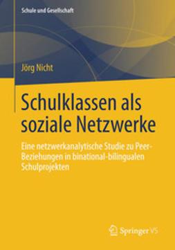 Nicht, Jörg - Schulklassen als soziale Netzwerke, ebook