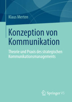 Merten, Klaus - Konzeption von Kommunikation, ebook
