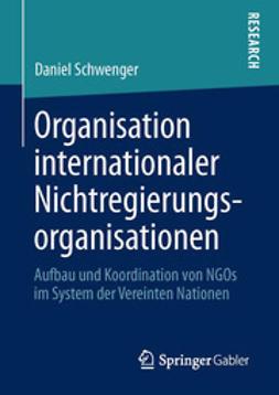 Schwenger, Daniel - Organisation internationaler Nichtregierungsorganisationen, ebook
