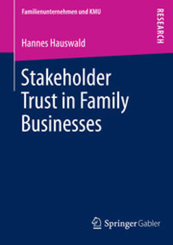 Hauswald, Hannes - Stakeholder Trust in Family Businesses, ebook