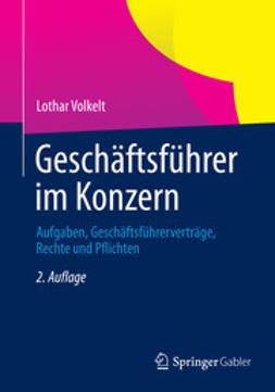 Volkelt, Lothar - Geschäftsführer im Konzern, ebook