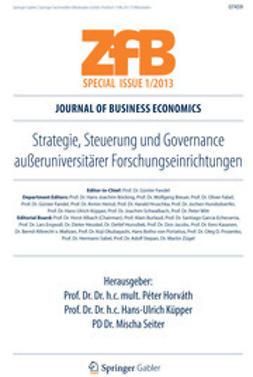 Horváth, Péter - Strategie, Steuerung und Governance außeruniversitärer Forschungseinrichtungen, ebook