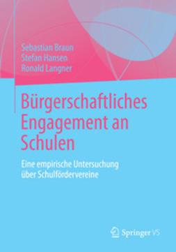 Braun, Sebastian - Bürgerschaftliches Engagement an Schulen, ebook