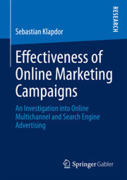 Klapdor, Sebastian - Effectiveness of Online Marketing Campaigns, ebook