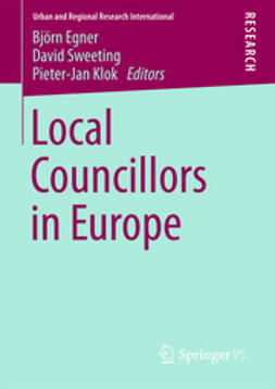 Egner, Björn - Local Councillors in Europe, ebook