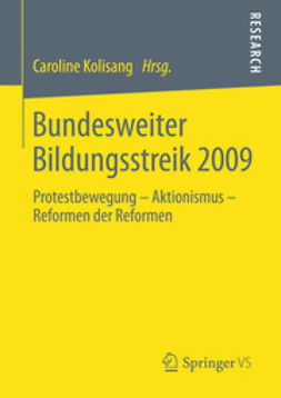 Kolisang, Caroline - Bundesweiter Bildungsstreik 2009, ebook