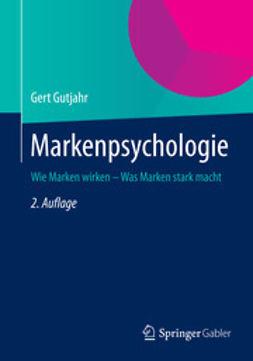 Gutjahr, Gert - Markenpsychologie, ebook