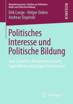 Lange, Dirk - Politisches Interesse und Politische Bildung, ebook