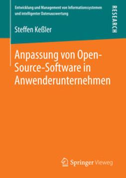 Keßler, Steffen - Anpassung von Open-Source-Software in Anwenderunternehmen, ebook