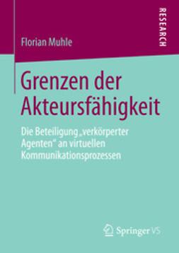 Muhle, Florian - Grenzen der Akteursfähigkeit, ebook