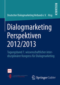 e.V., Deutscher Dialogmarketing Verband - Dialogmarketing Perspektiven 2012/2013, ebook