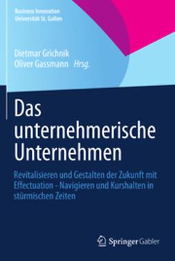 Grichnik, Dietmar - Das unternehmerische Unternehmen, ebook