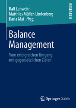 Lanwehr, Ralf - Balance Management, ebook