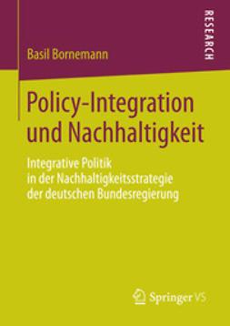 Bornemann, Basil - Policy-Integration und Nachhaltigkeit, ebook