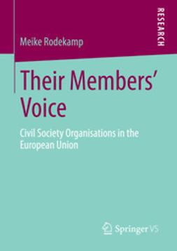 Rodekamp, Meike - Their Members' Voice, e-bok