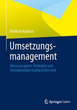 Kolbusa, Matthias - Umsetzungsmanagement, e-bok