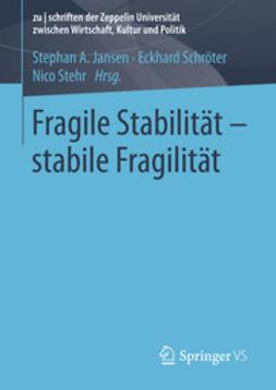 Jansen, Stephan A. - Fragile Stabilität – stabile Fragilität, ebook