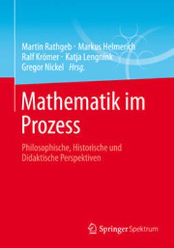 Rathgeb, Martin - Mathematik im Prozess, e-bok