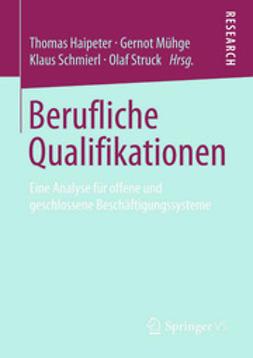 Haipeter, Thomas - Berufliche Qualifikationen, ebook